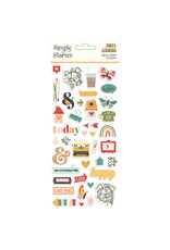 simple stories Hello Today :  Puffy Stickers
