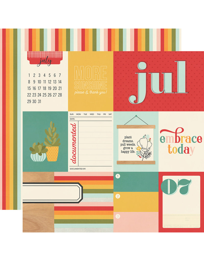 simple stories Hello Today Paper:  July