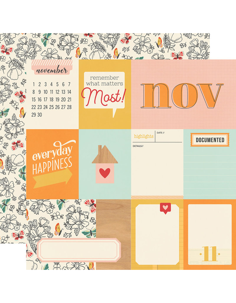 simple stories Hello Today Paper:  November