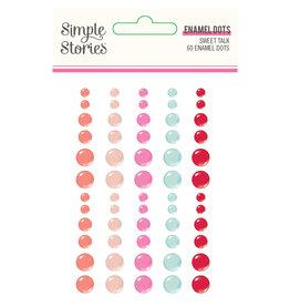 simple stories Sweet Talk :  Enamel Dots