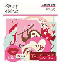 simple stories Sweet Talk :  Journal Bits