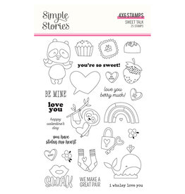 simple stories Sweet Talk :  Stamps