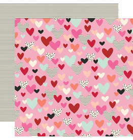 simple stories Sweet Talk Paper:  All of My Heart