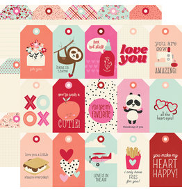 simple stories Sweet Talk Paper:  Tags