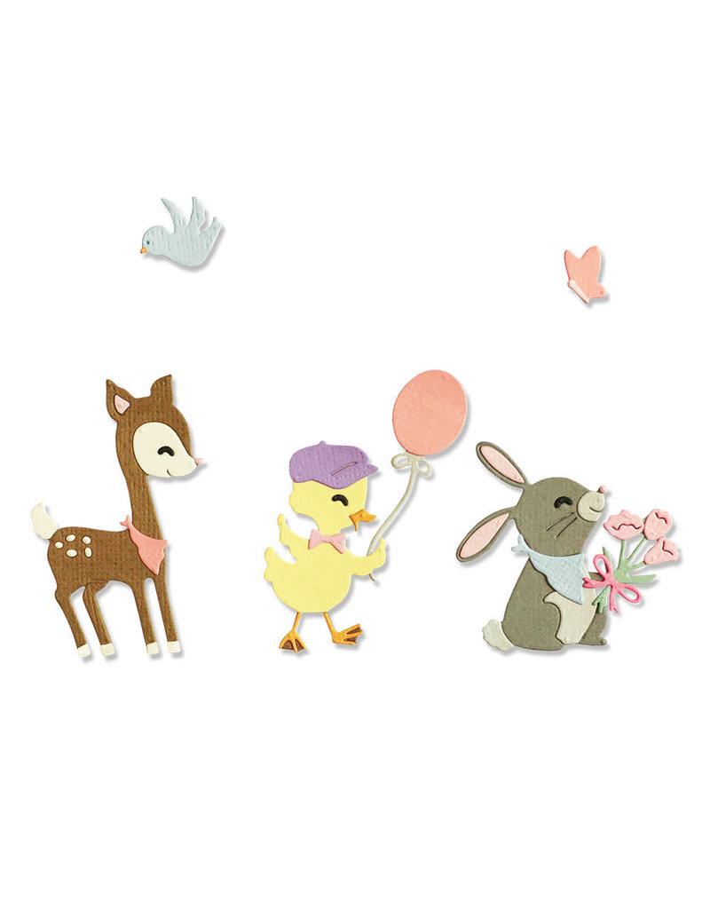 Jen Long-Philipsen Baby Animals Thinlits Die Set