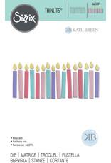 sizzix Birthday Candles Thinlits Die