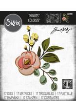 Tim Holtz Bloom Colorize Thinlits Die Set