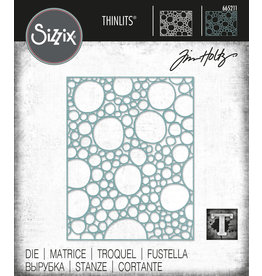 Tim Holtz Bubbling Thinlits Die Set