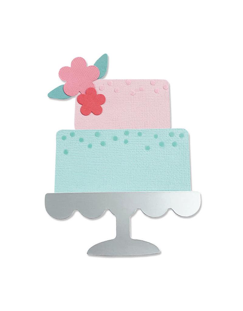 sizzix Celebration Cake Bigz Die