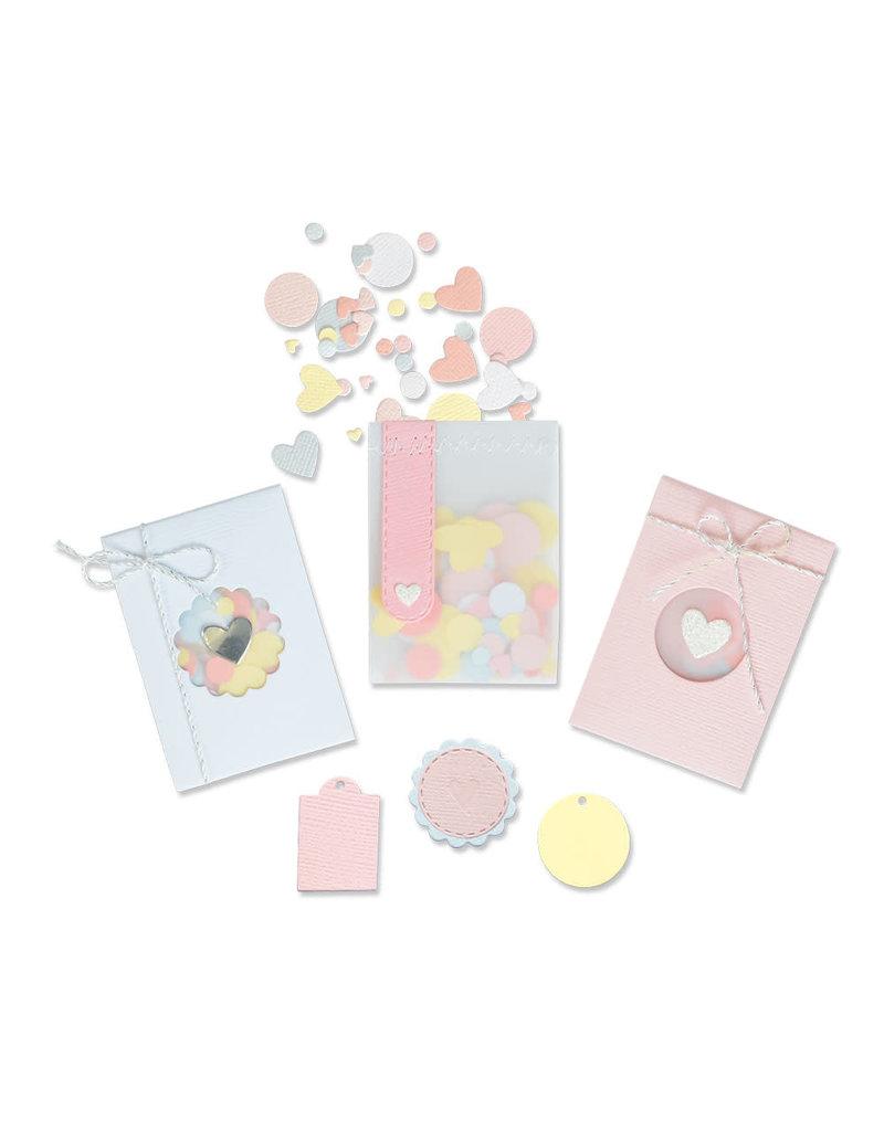 sizzix Confetti Pocket Thinlits Die Set