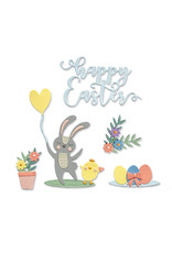 sizzix Easter Icons Thinlits Die Set