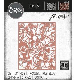 Tim Holtz Flowery Thinlits Die Set