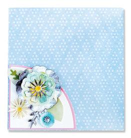 Eileen Hull Folio Page Pocket & Flowers Thinlits Die