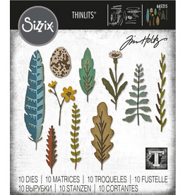Tim Holtz Funky Nature Thinlits Die Set