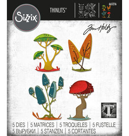Tim Holtz Funky Toadstools Thinlits Die Set