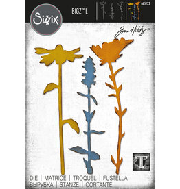 Tim Holtz Large Stems #2 Bigz Die