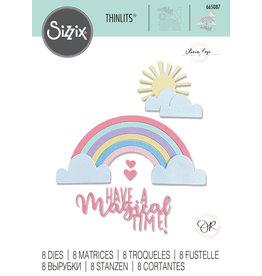 sizzix Rainbow Magic Thinlits Die Set