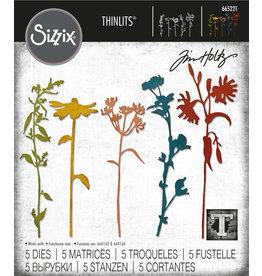 Tim Holtz Wildflower Stems #3 Thinlits Die Set
