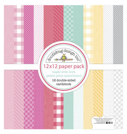 DOODLEBUG made with love:  petite print assortment pack