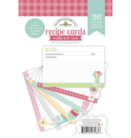 DOODLEBUG made with love:  recipe cards