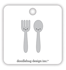 DOODLEBUG made with love: let's eat collectible pins