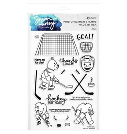 prima Hockey Buddies Stamp