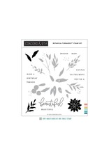 concord & 9th Botanical Turnabout Stamp Set