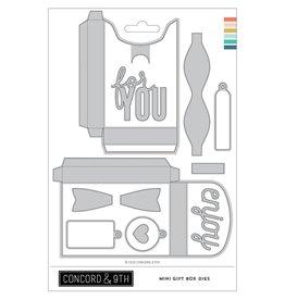 concord & 9th Mini Gift Box Dies