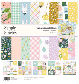 simple stories Bunnies + Blooms - Collection Kit