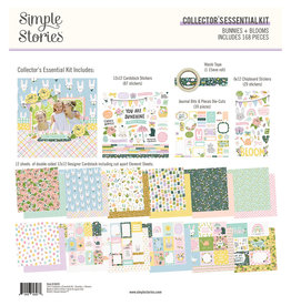 simple stories Bunnies + Blooms - Collector's Essential Kit