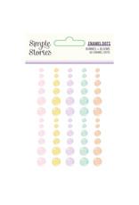 simple stories Bunnies + Blooms - Enamel Dots