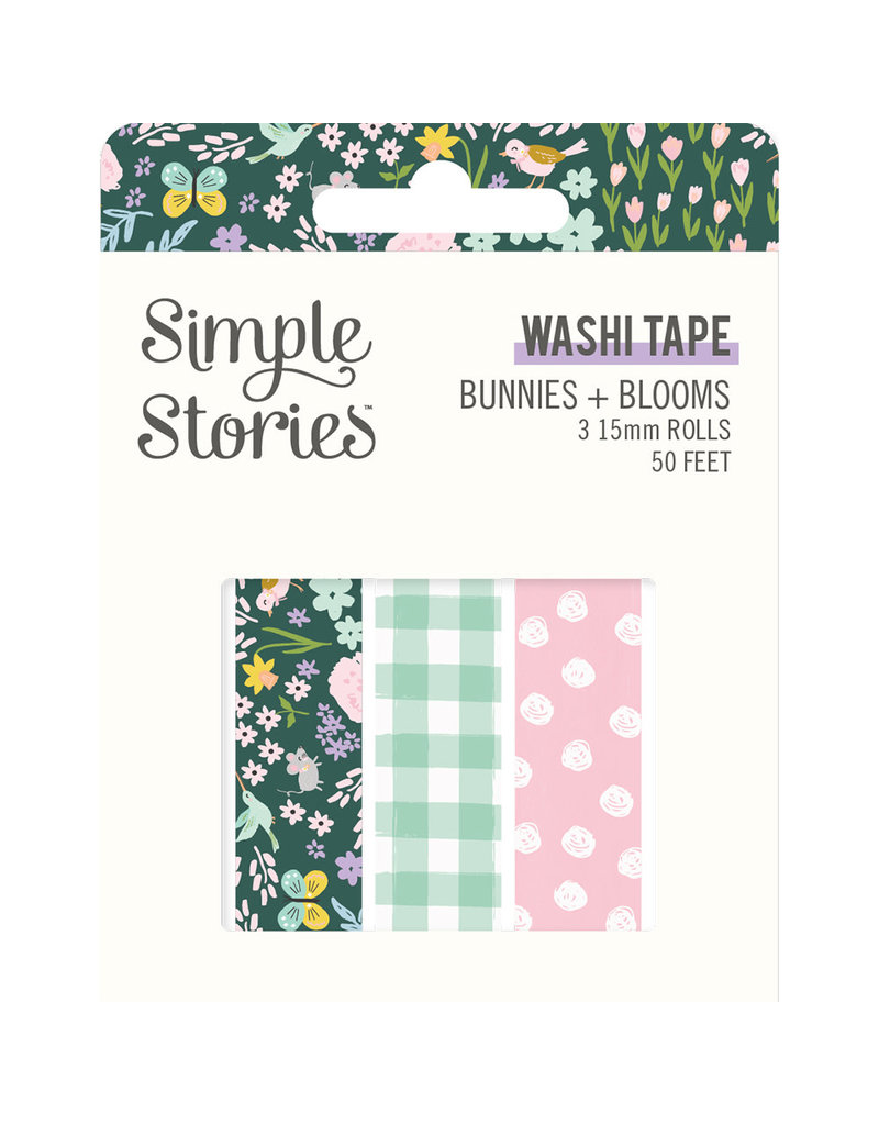 simple stories Bunnies + Blooms - Washi Tape