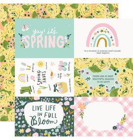 simple stories Bunnies + Blooms Paper - 4x6 Elements