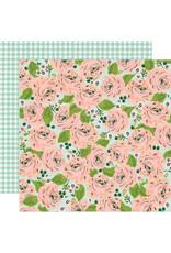 simple stories Bunnies + Blooms Paper - In Full Bloom