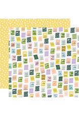 simple stories Bunnies + Blooms Paper - Scattering Seeds