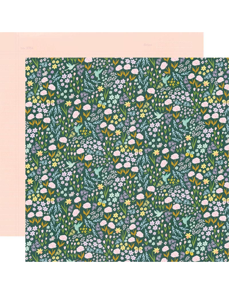 simple stories Bunnies + Blooms Paper - So Sweet