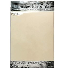 Tim Holtz MIXED MEDIA HEAVYSTOCK 10/PKG