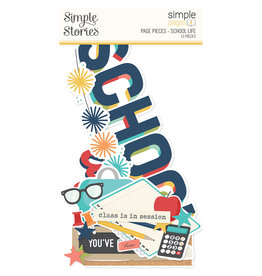 simple stories Simple Pages Page Pieces - School Life