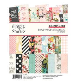 simple stories Simple Vintage Cottage Fields - 6x8 Pad