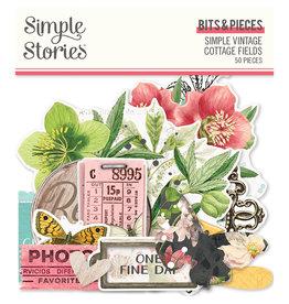 simple stories Simple Vintage Cottage Fields - Bits & Pieces