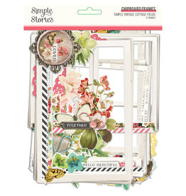 simple stories Simple Vintage Cottage Fields - Chipboard Frames