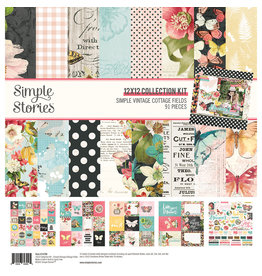 simple stories Simple Vintage Cottage Fields - Collection Kit