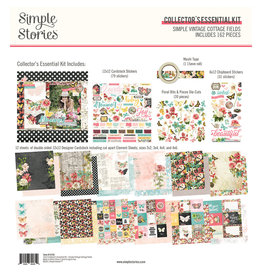 simple stories Simple Vintage Cottage Fields - Collector's Essential Kit