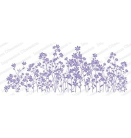 Impression Obsession Wildflowers Slim Scenes Cling Stamp