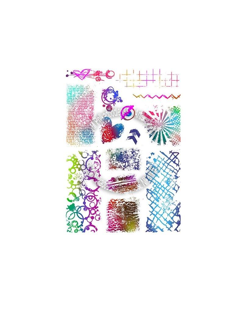 Polkadoodles Amazing Textures Stamp