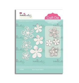 Polkadoodles Flower Flourish Die Set