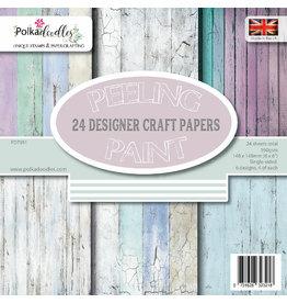 Polkadoodles Peeling Paint 6x6 Paper