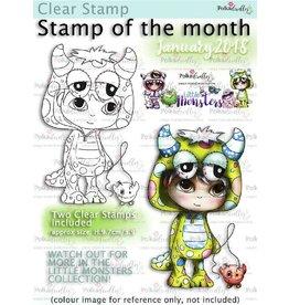 Polkadoodles Pip Monster Costume Onesie Stamp