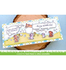 lawn fawn bubbles of joy stamp