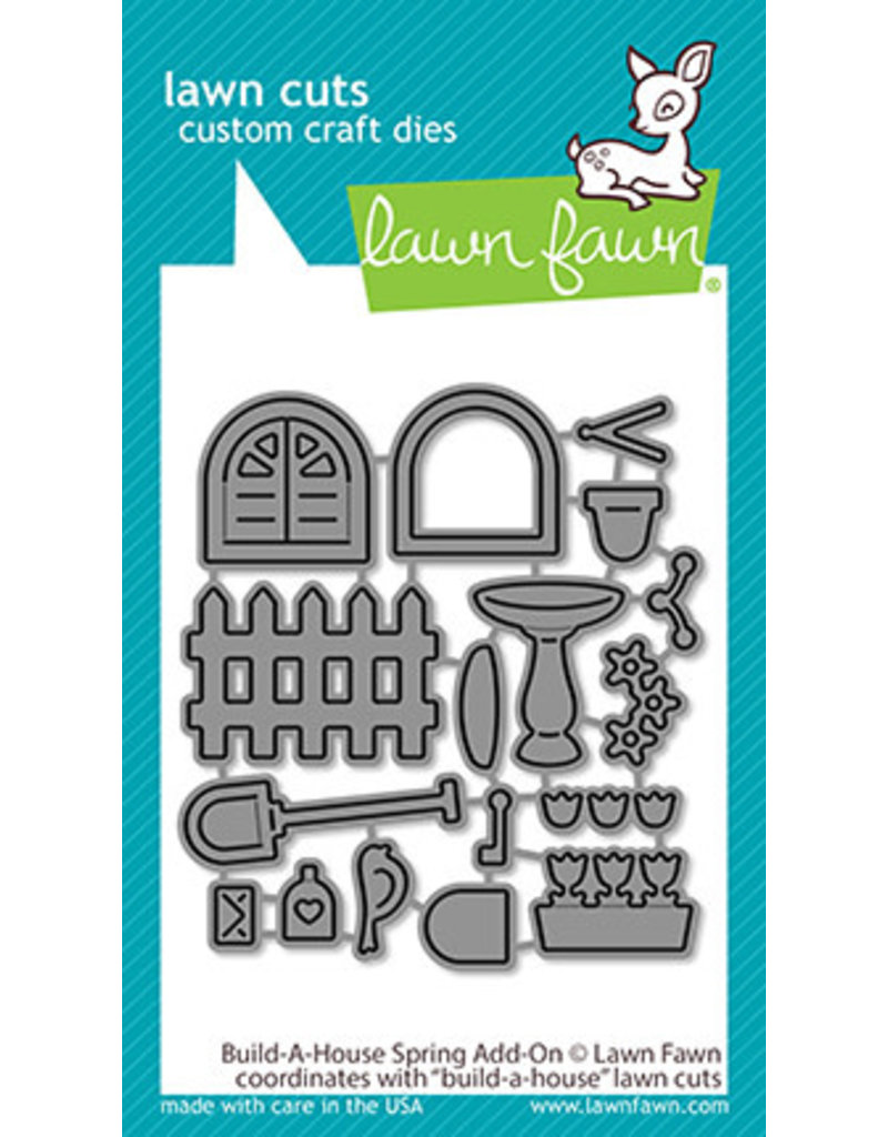 lawn fawn build-a-house spring add-on die